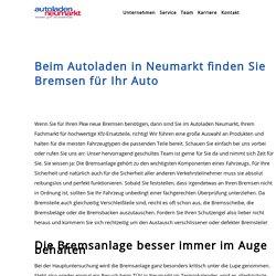 Autoladen in Neumarkt GmbH & Co. KG