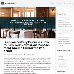 Brendan Corkery: Turn Your Restaurant Management Around