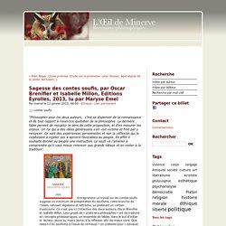 Sagesse des contes soufis, par Oscar Brenifier et Isabelle Millon, Editions Eyrolles, 2013, lu par Maryse Emel - oeil de minerve ISSN 2267-9243