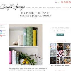 Brenna's Secret Storage Books