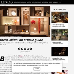 Brera: An artistic guide