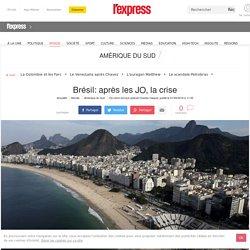 Brésil: après les JO, la crise