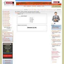 Test Brésilien » Testez votre niveau en langues » Paris - Bordeaux - Toulouse - Marseille - Lyon » Accom Enseigna