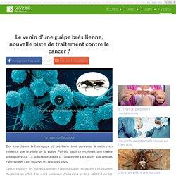 Le venin d'une guêpe brésilienne, nouvelle piste de traitement contre le cancer ?