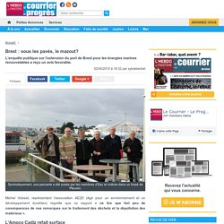 Brest : sous les pavés, le mazout?