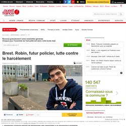 Brest. Robin, futur policier, lutte contre le harcèlement