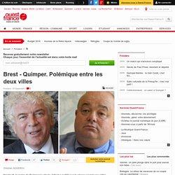 Brest - Quimper. Polémique entre les deux villes