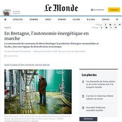 En Bretagne, l'autonomie énergétique en marche