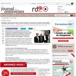 Fil Info - Bretagne. Beaumanoir créeun pôle mondial du commerce connecté à Saint-Malo