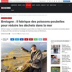 Bretagne : Il fabrique des poissons-poubelles pour réduire les déchets dans l...