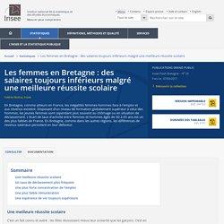 0417 femmes en Bretagne: des salaires toujours inférieurs malgré une meilleure réussite scolaire