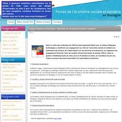 Caisse d'épargne de Bretagne : Matinales de l'économie sociale et solidaire