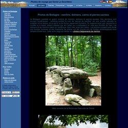 Photos de Bretagne : menhirs, dolmens, cairns et pierres sacrées