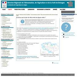 DRAAF BRETAGNE 11/04/16 Qu'est-ce que le plan de lutte contre les algues vertes ?