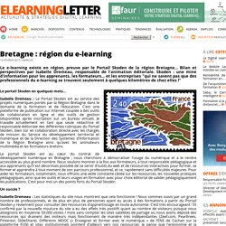Bretagne : région du e-learning
