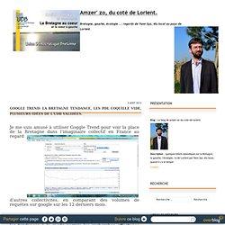 Google Trend: la Bretagne tendance, les PDL coquille vide, plusieurs idées de l'UDB validées. - Le blog de amzer-zo-du-cote-de-lorient
