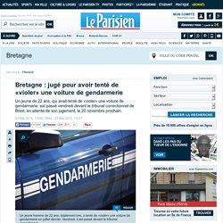 Bretagne : jugé pour avoir tenté de «violer» une voiture de gendarmerie