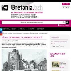 le portail des cultures de Bretagne - Déclin de Penmarc'h, mythe et réalité