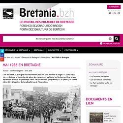 Bretania, le portail des cultures de Bretagne - Mai 1968 en Bretagne