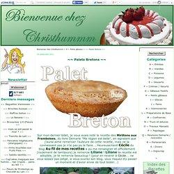 ~~ Palets Bretons ~~ - Bienvenue chez Christhummm