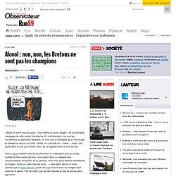 Alcool : non non, les Bretons ne sont pas les champions