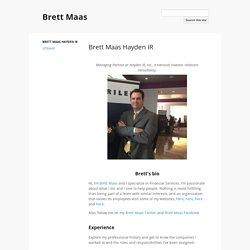 Brett Maas