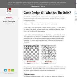 BrettSpiel: Game Design 101: What Are The Odds?