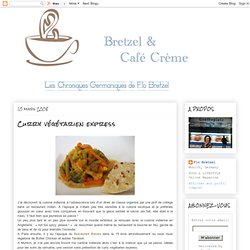 Curry végétarien express