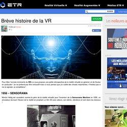 Brève histoire de la VR