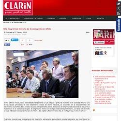 Una muy breve historia de la corrupción en Chile