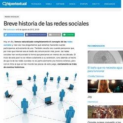 Breve historia de las redes sociales