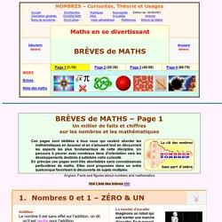Brèves de maths 01