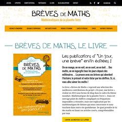 Brèves de Maths, le livre - Brèves de Maths