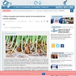 L'Office européen des brevets admet la brevetabilité des variétés végétales