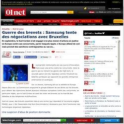 Guerre des brevets : Samsung tente des négociations avec Bruxelles