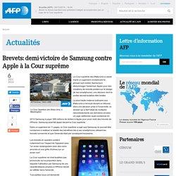 Brevets: demi-victoire de Samsung contre Apple à la Cour suprême