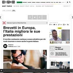 Brevetti in Europa, l'Italia migliora le sue prestazioni