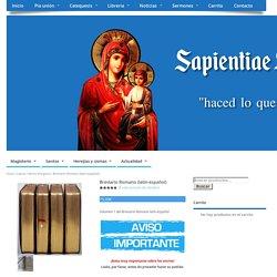 Breviario Romano (latín-español) – Sapientiae Sedei Filii