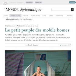 Le petit peuple des mobile homes, par Benoît Bréville (Le Monde diplomatique, février 2016)