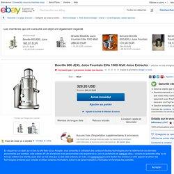 Breville 800 JEXL Juice Fountain Elite 1000-Watt Juice Extractor