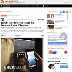 Brewbot : de la bière brassée à la demande à base d'Arduino
