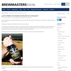 BrewMasters. Insumos e Ingredientes para Elaborar Cerveza.