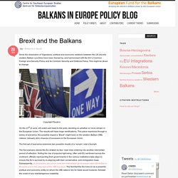 Balkans in Europe Policy Blog