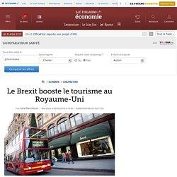 Le Brexit booste le tourisme au Royaume-Uni