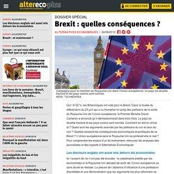 Brexit : quelles conséquences