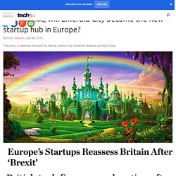 After Brexit, Emerald City wants to be the startup hub of Europe