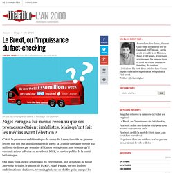 Le Brexit, ou l'impuissance du fact-checking