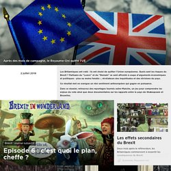 Arte - Dossier de presse : Brexit : oui ou non