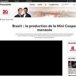 Brexit : la production de la Mini Cooper menacée