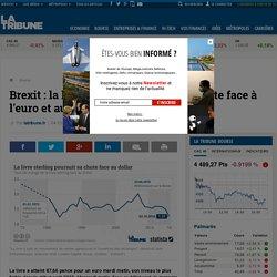 Brexit : la livre sterling continue sa chute face à l'euro et au dollar
